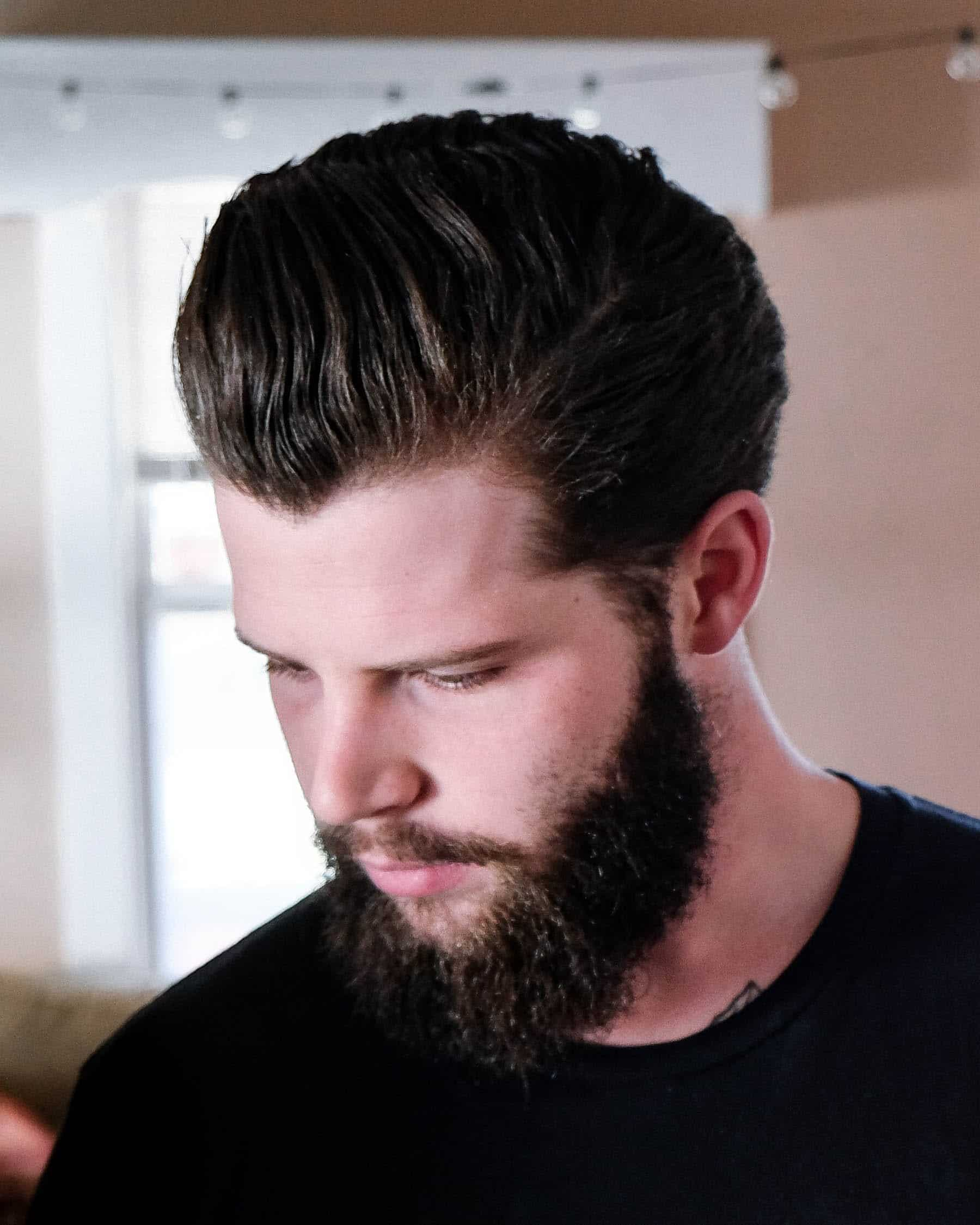 how to use matte clay pomade - the mailroom barber co