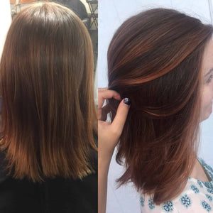 Balayage to Copper