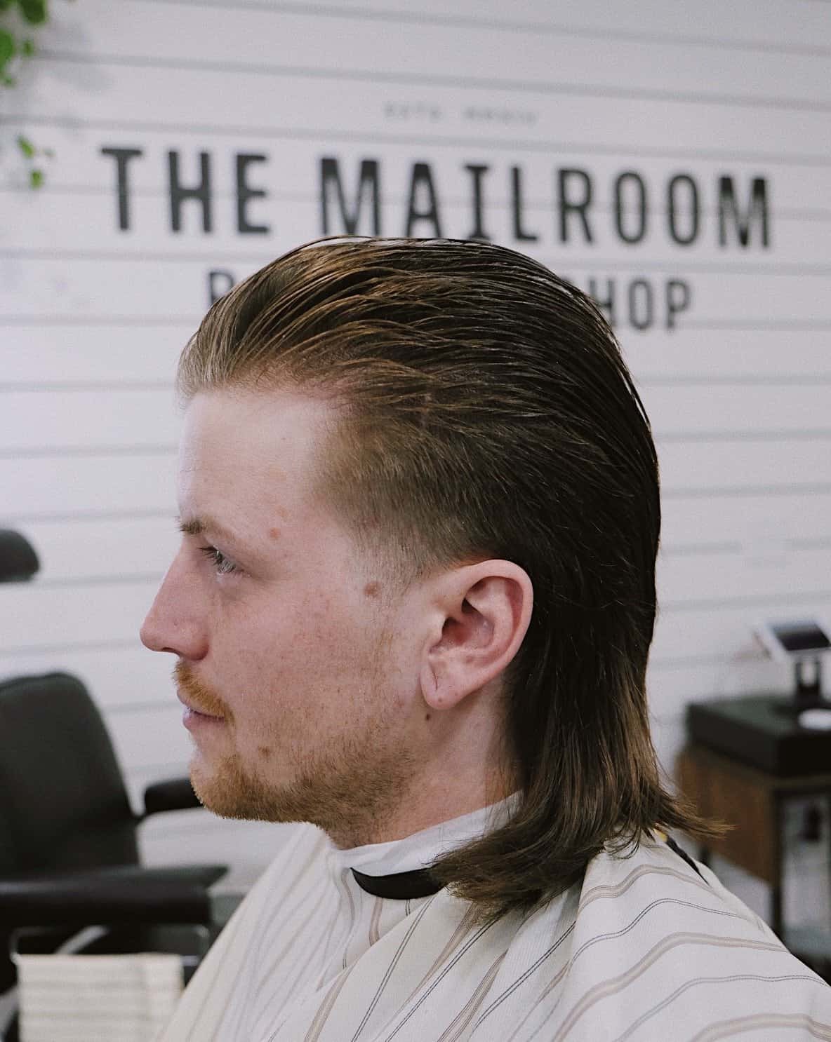 Prime Are Mullets Coming Back The Mailroom Barber Co Natural Hairstyles Runnerswayorg