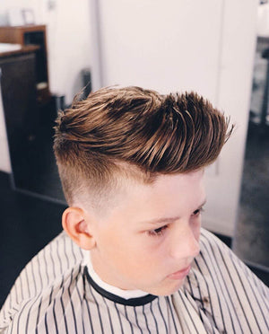 mens short textured haircut