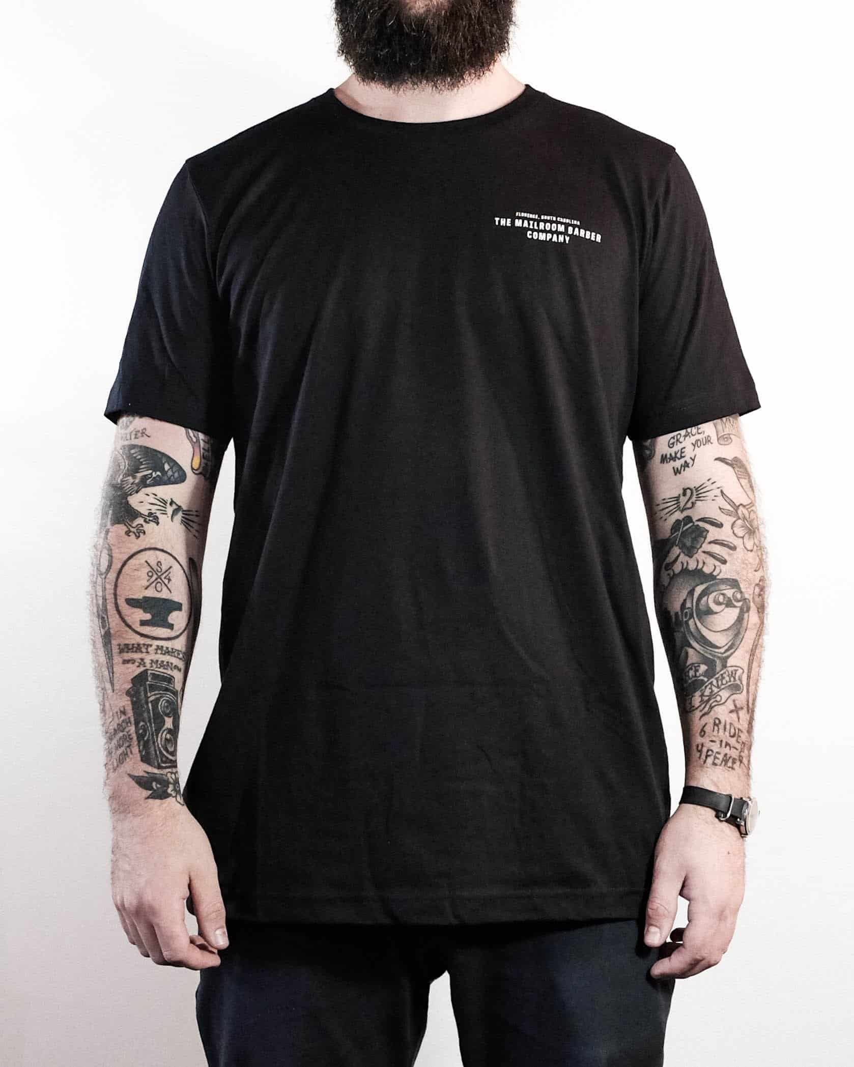 Cutthroat Tee - The Mailroom Barber Co