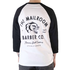 Panther Baseball Tee - The Mailroom Barber Co