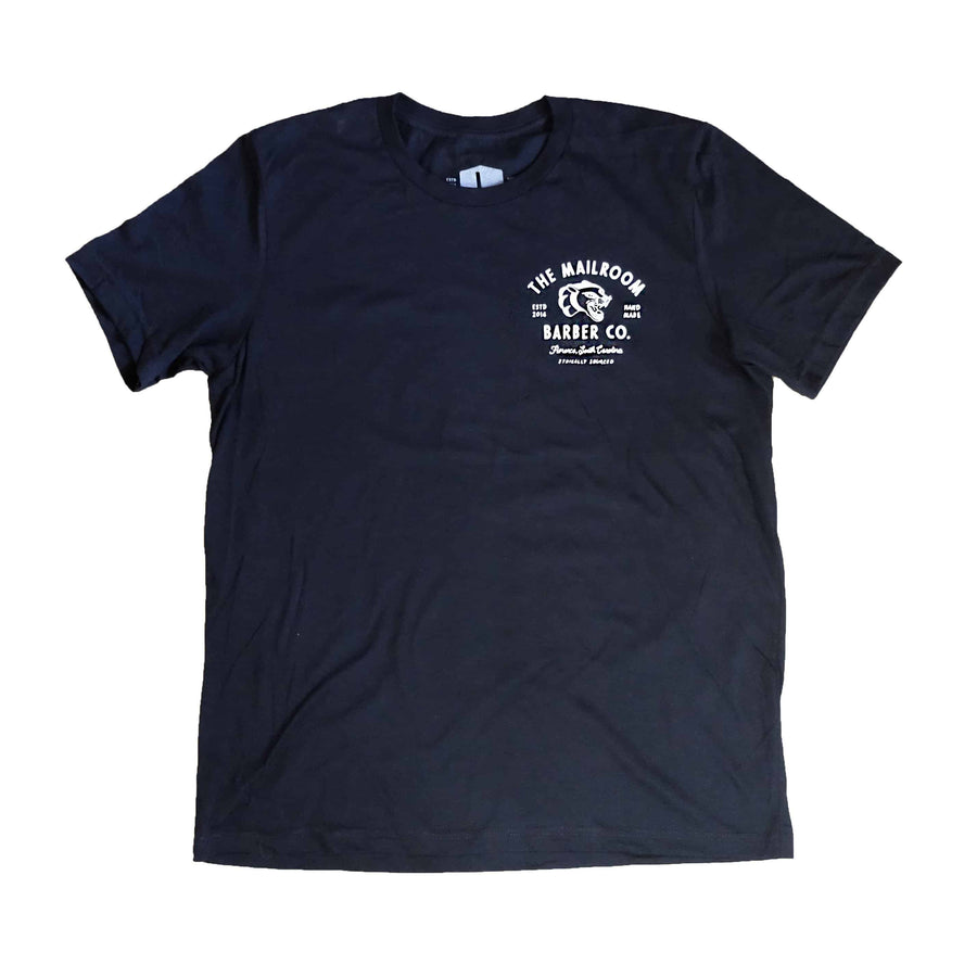 Panther Tee - Black - The Mailroom Barber Co