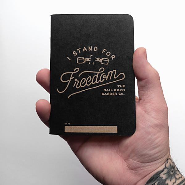 ISFF - Pocket Journal - The Mailroom Barber Co