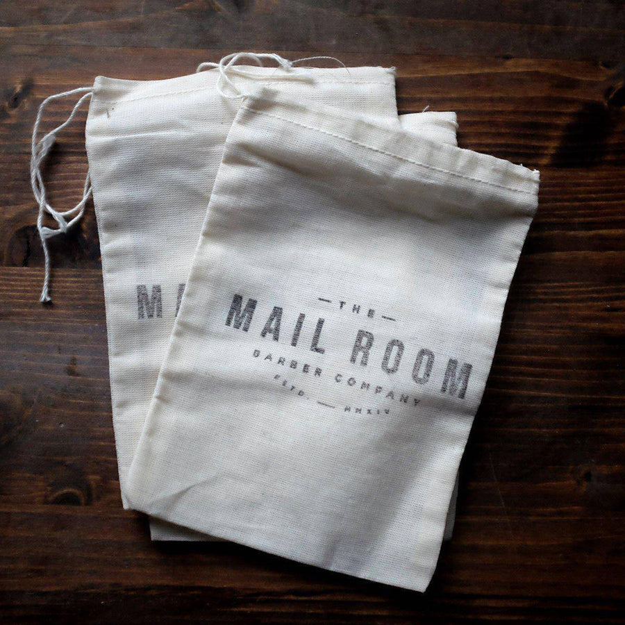 Muslin Drawstring Bag - The Mailroom Barber Co