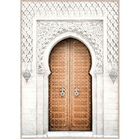 CASABLANCA DOOR ARCH Canvas