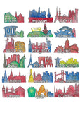 18 Cities (prints)