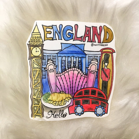 ENGLAND Sticker (2)