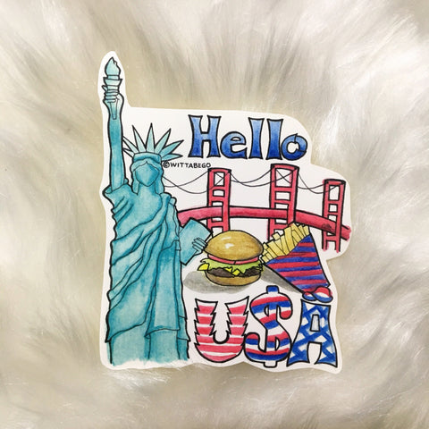 USA Sticker (2)