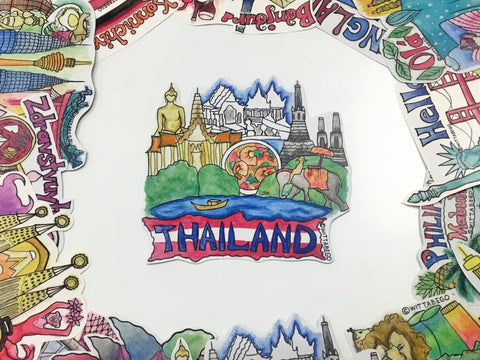 THAILAND Sticker (2)