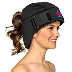The Delux Icekap 2.0 cooling and warming compress cap for headaches and migraines. ON BACK ORDER UNTIL AUGUST 15th USA/ SEPT 15th  CANADA