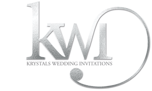 Krystals Wedding Invitations