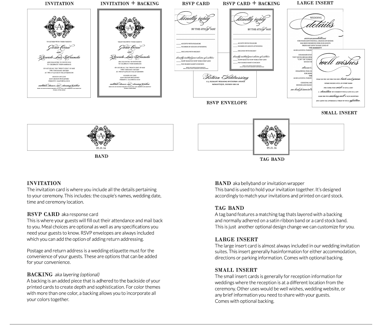 wedding invitation word