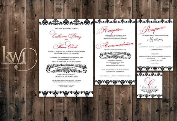 DIY Wedding Invitations - DIY Printables