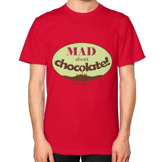 MAD about Chocolate Unisex Jersey