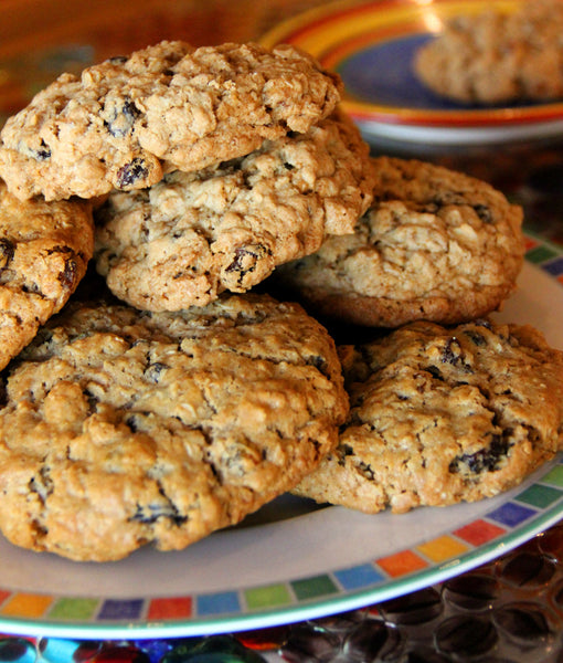Bourbon Oatmeal Cookies