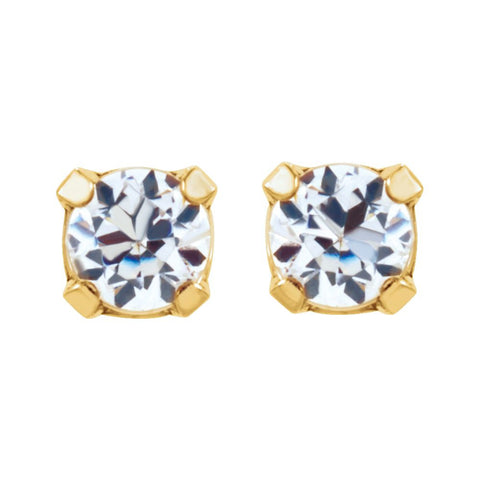 Cubic Zirconia Inverness Piercing Earrings