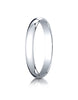 Benchmark-Platinum-3mm-Slightly-Domed-Traditional-Oval-Wedding-Band-Ring--Size-4--130PT04