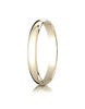 Benchmark-10K-Yellow-Gold-3mm-Slightly-Domed-Traditional-Oval-Wedding-Band-Ring--Size-4--13010KY04