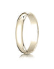 Benchmark-10K-Yellow-Gold-4mm-Slightly-Domed-Traditional-Oval-Wedding-Band-Ring--Size-4--14010KY04