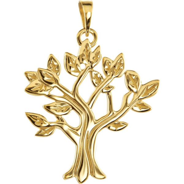 10k Yellow Gold My Tree™ Family Pendant
