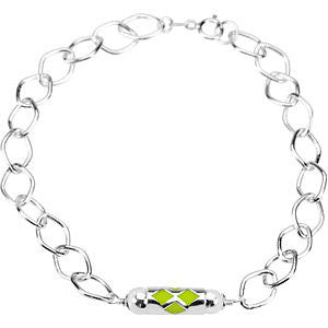 Kid's Make It Happen Lanterns Bracelet with Packaging in Sterling Silver