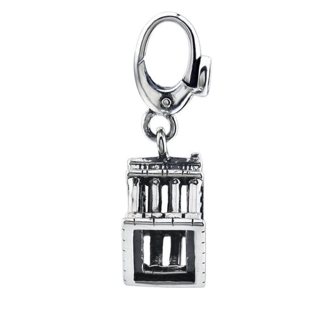 Sterling Silver Parthenon Charm