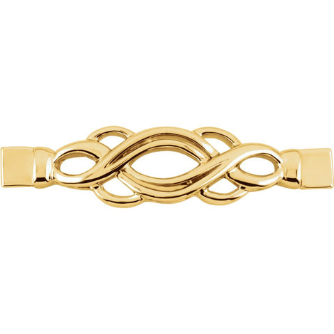 Fashion Bracelet Center in 14K Yellow Gold