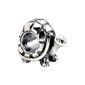 Sterling Silver 13.5x10mm Turtle Bead