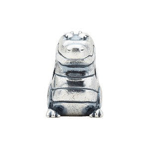 Sterling Silver Alligator Slider Bead