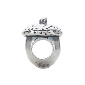 Sterling Silver 12.1x9.4mm Acorn Bead