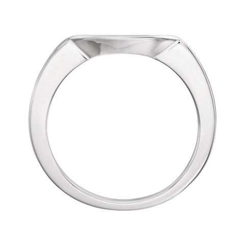 Platinum 5.2mm Band, Size 6