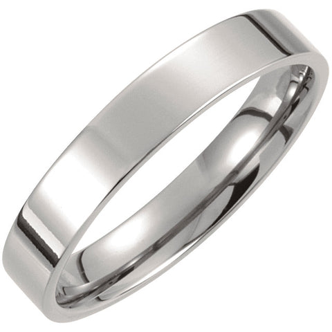 Titanium Men's Comfort-Fit Wedding Band, Size 12
