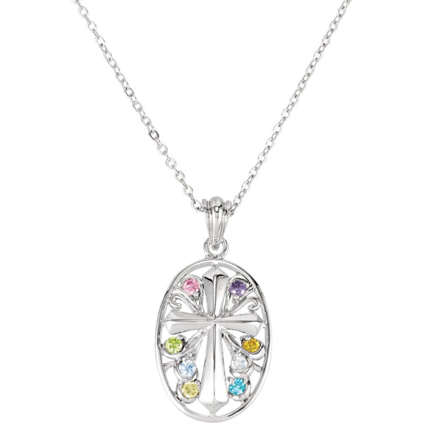 Sterling Silver Celebrate Recovery Necklace