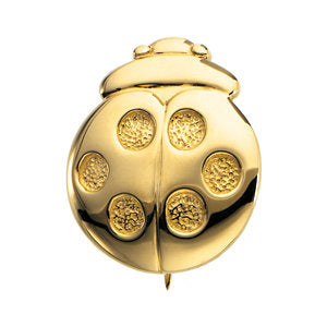 14k Yellow Gold Heaven's Ladybug Brooch