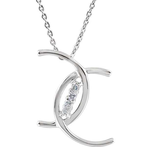 Sterling Silver Cubic Zirconia 4 C's of Purity 18