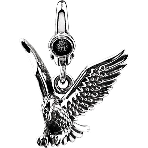 American Eagle Charm in Sterling Silver