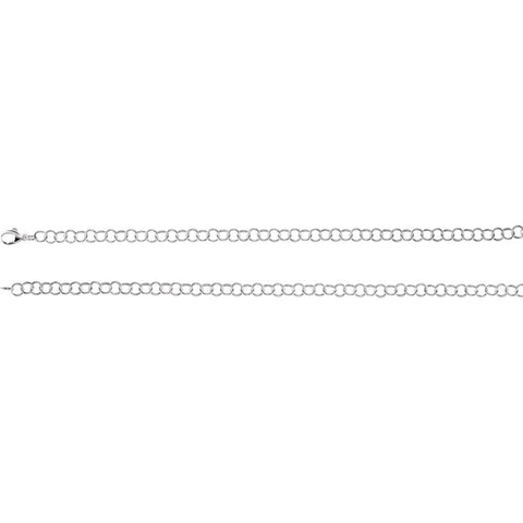 6.25 mm Ring Chain Bracelet in Sterling Silver ( 7-Inch )