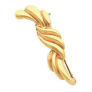 14k Yellow Gold Fashion Brooch