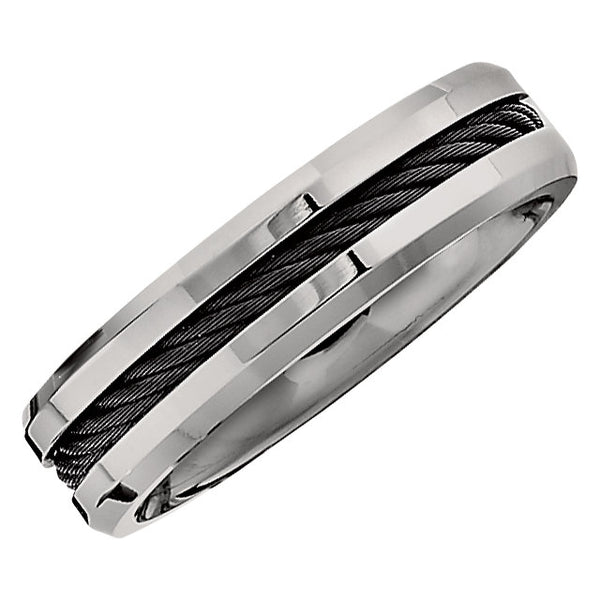 Titanium 6mm Band Size 12
