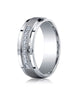Benchmark-Argentium-Silver-7mm-Comfort-Fit-Pave-Set-9-Stone-Diamond-Design-Wedding-Band--0.18-cttw--Sz-6--CF67380SV06