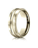 Benchmark-14K-Yellow-Gold-7.5mm-Comfort-Fit-Satin-Finished-High-Polished-Center-Cut-Wedding-Band--Size-4--CF71750514KY04