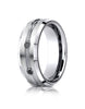 Benchmark-Cobaltchrome-7.5mm-Comfort-Fit-3-Stone-Black-Diamond-Design-Wedding-Band--0.20-cttw--Size-6--CF975622CC06