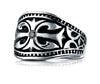 Benchmark-Cobaltchrome-9-mm-Fancy-Black-Diamond-Comfort-Fit-Wedding-Band-Ring--0.06-cttw--Size-6.5--CF99453CC06.5