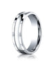 Benchmark-14K-White-Gold-6mm-Comfort-Fit-High-Polished-Squared-Edge-Carved-Design-Wedding-Band--Size-4--CFSE7620014KW04