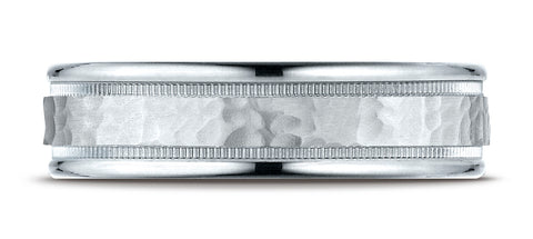 Benchmark-18K-White-Gold-6mm-Comfort-Fit-High-Polished-Squared-Edge-Carved-Design-Wedding-Band--Size-6.25--CF15630918KW06.25