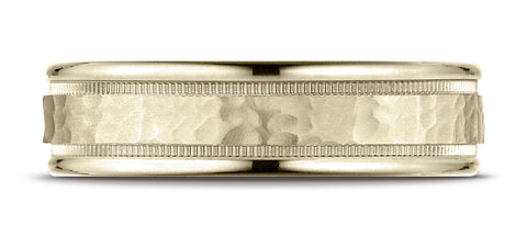Benchmark-18K-Yellow-Gold-6mm-Comfort-Fit-High-Polished-Squared-Edge-Carved-Design-Wedding-Band--Size-6.25--CF15630918KY06.25