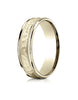 Benchmark-18K-Yellow-Gold-6mm-Comfort-Fit-High-Polished-Squared-Edge-Carved-Design-Wedding-Band--Size-6--CF15630918KY06