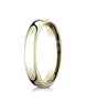 Benchmark-14K-Yellow-Gold-4.5mm-European-Comfort-Fit-Wedding-Band-Ring--Size-4--EUCF14514KY04