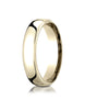 Benchmark-14K-Yellow-Gold-5.5mm-European-Comfort-Fit-Wedding-Band-Ring--Size-4--EUCF15514KY04